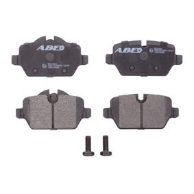 Brake Pad Set, disc brake C2B016ABE for MINI MINI COUNTRYMAN at a discount — buy now!