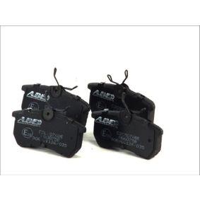 Jogo de pastilhas para travão de disco C2G007ABE com uma excecional ABE relação preço-desempenho