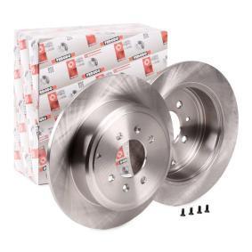 Brake Disc DDF869 406 Estate 2.1 TD 12V 109 HP original parts-Offers