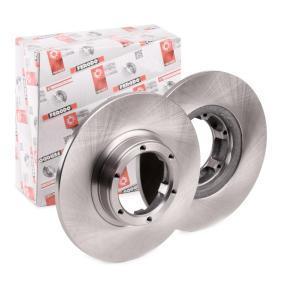 Disque de frein DDF016 pour RENAULT 18 à prix réduit — achetez maintenant!