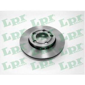 Disque de frein V2007V LPR Paiement sécurisé — seulement des pièces neuves
