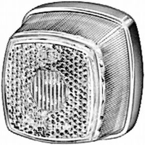compre HELLA Vidro de farol, luz traseira 9EL 117 334-001 a qualquer hora