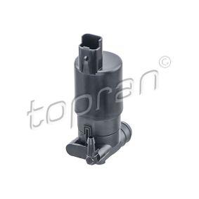 Pompa acqua lavaggio, Tergicristallo TOPRAN 207 666 comprare e sostituisci