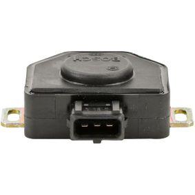 датчик, положение на дроселовата клапа BOSCH 0 280 120 310 купете и заменете