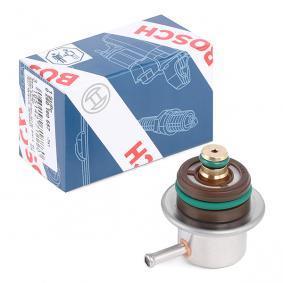 compre BOSCH Regulador da pressão de combustível 0 280 160 557 a qualquer hora