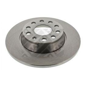 Disco de travão 25841 MAPCO Pagamento seguro — apenas peças novas