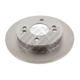 Disco de travão 45572 MAPCO Pagamento seguro — apenas peças novas