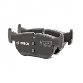 0 986 494 272 Brake Pad Set, disc brake BOSCH - Experience and discount prices