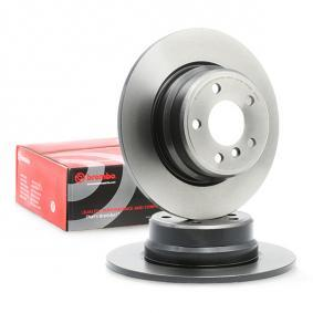 Brake Disc 08.7019.81 with an exceptional BREMBO price-performance ratio