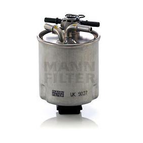 kraftstofffilter mann filter art nr wk 9027 jetzt. Black Bedroom Furniture Sets. Home Design Ideas