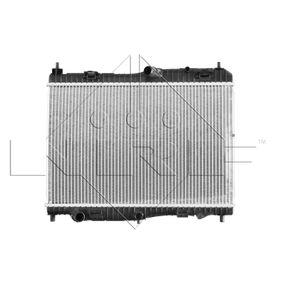 Radiatore, Raffreddamento motore 53044 con un ottimo rapporto NRF qualità/prezzo
