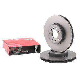 Brake Disc 09.8697.81 with an exceptional BREMBO price-performance ratio