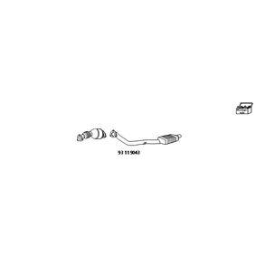 HJS Nachrüstsatz, Katalysator / Rußpartikelfilter (Kombisystem) 93 11 9043 rund um die Uhr online kaufen