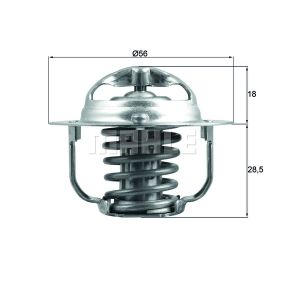 BEHR THERMOT-TRONIK TX 29 85D termosztát, hűtőfolyadék vásárlás