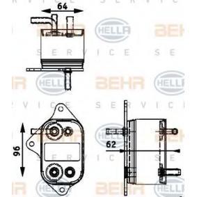 HELLA Radiatore carburante 8MK 376 745 01 1 acquista online 24/7