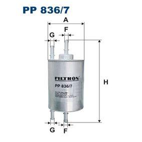 Kraftstofffilter PP836/7 für AUDI günstige Preise - Jetzt zugreifen!
