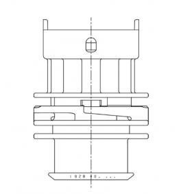 1928403453 Zástrčka, zapalovací systém BOSCH - Obrovský výběr — ještě větší slevy