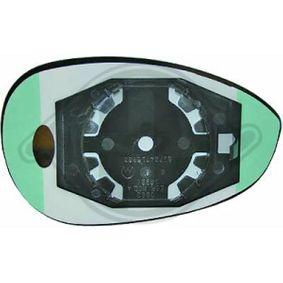 Compre e substitua Vidro de espelho, espelho retrovisor exterior DIEDERICHS 3405126