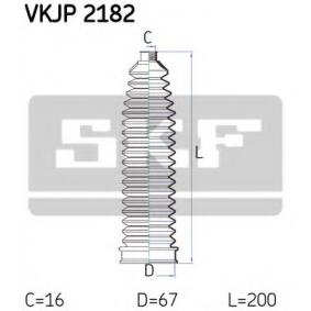 Kit soffietto, Sterzo VKJP 2182 con un ottimo rapporto SKF qualità/prezzo