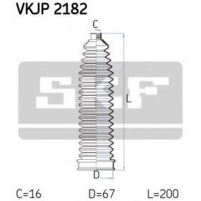 Kit soffietto, Sterzo SKF VKJP 2182 comprare e sostituisci