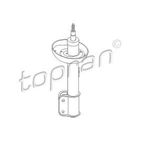 Ammortizzatore 206 692 con un ottimo rapporto TOPRAN qualità/prezzo