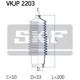 kúpte si SKF Manżeta riadenia - opravná sada VKJP 2203 kedykoľvek