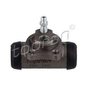 Ammortizzatore 501 637 con un ottimo rapporto TOPRAN qualità/prezzo