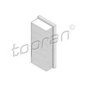 въздушен филтър TOPRAN 407 949 купете и заменете