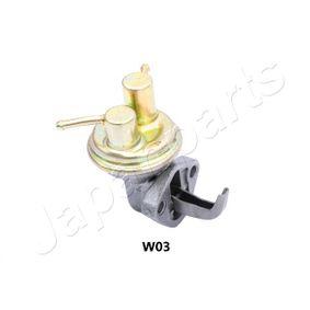 Pompa carburante JAPANPARTS PB-W03 comprare e sostituisci
