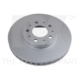 Disco de travão 314832 NK Pagamento seguro — apenas peças novas