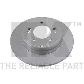 Disco de travão 313425 NK Pagamento seguro — apenas peças novas