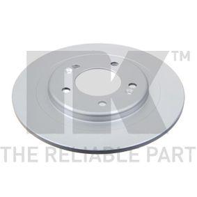 Disco de travão 313442 NK Pagamento seguro — apenas peças novas