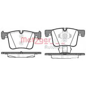 Brake Pad Set, disc brake 1457.00 for BMW X4 at a discount — buy now!