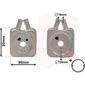 VAN WEZEL Radiatore olio, Olio motore 58003147 acquista online 24/7