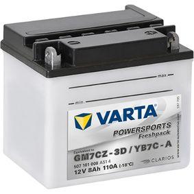VARTA Batteria avviamento 507101008A514 acquista online 24/7
