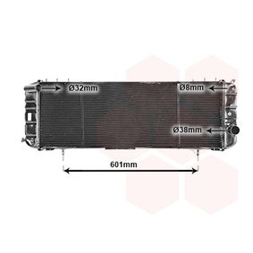 Achetez et remplacez Radiateur, refroidissement du moteur 21002016