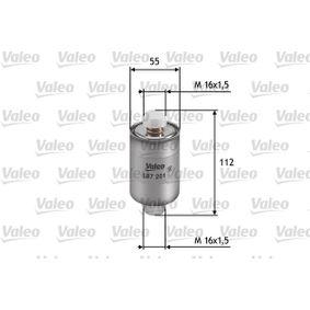 Bränslefilter 587201 som är helt VALEO otroligt kostnadseffektivt