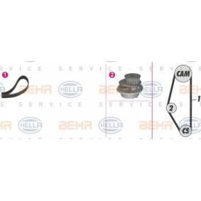 Bomba de agua + kit correa distribución 8MP 376 804-831 HELLA Pago seguro — Solo piezas de recambio nuevas