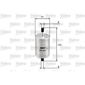 587001 filtru combustibil VALEO - produse de brand ieftine
