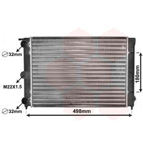 VAN WEZEL Radiatore, Raffreddamento motore 58002039 acquista online 24/7