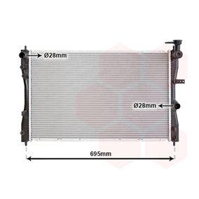 Radiatore, Raffreddamento motore VAN WEZEL 32002172 comprare e sostituisci