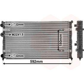 Radiateur, refroidissement du moteur 49002023 VAN WEZEL Paiement sécurisé — seulement des pièces neuves