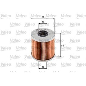 buy and replace Oil Filter VALEO 586543