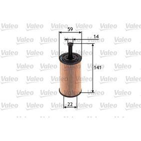 Filtre à huile 586509 à un rapport qualité-prix VALEO exceptionnel