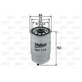 palivovy filtr 587713 VALEO Zabezpečená platba – jenom nové autodíly