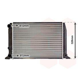 Radiatore, Raffreddamento motore VAN WEZEL 03002028 comprare e sostituisci
