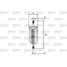 palivovy filtr 587027 VALEO Zabezpečená platba – jenom nové autodíly