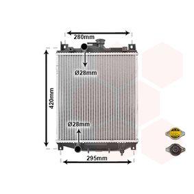Achetez et remplacez Radiateur, refroidissement du moteur 52002059