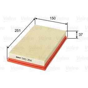 Koop en vervang Luchtfilter VALEO 585268