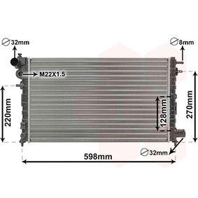 Radiatore, Raffreddamento motore VAN WEZEL 09002120 comprare e sostituisci